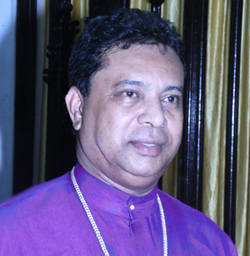 Rt. Rev. Dr. Paritosh Canning Moderator Episcopal Commissary Diocese of Barrackpore & President, Managing Commiitee